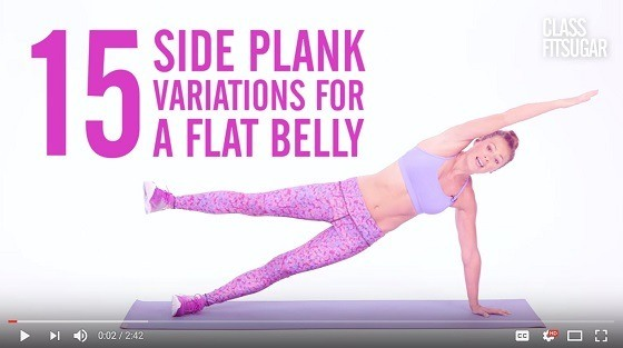 15 Side Plank Variations For A Flat Belly